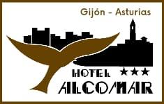 Hotel Alcomar, con vistas a la playa de San Lorenzo