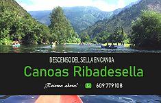 Banner Canoas Ribadesella