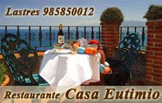 Banner de Casa Eutimio, hotel y restaurante en Lastres