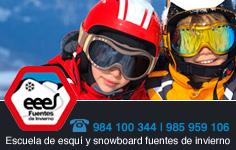 Banner Escuela Española de Esqui