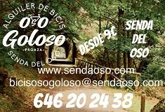 Oso Goloso - Alquiler de Bicicletas en la Senda del Oso