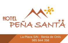 Banner de Peña Santa