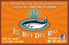 El Rey del Río, todo para la pesca en El Entrego